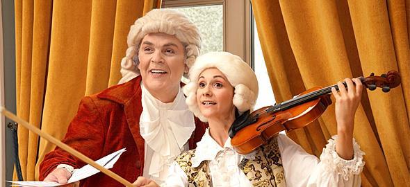 Κερδίστε 5 διπλές προσκλήσεις για την παράσταση «Ο μικρός Amadeus - Το παιδί θαύμα»