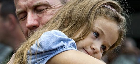 «Σε ευχαριστώ μπαμπά γιατί υπήρξες πατέρας και μάνα για μένα»