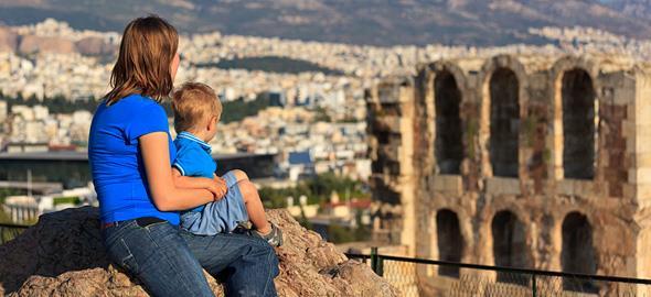 Η αγαπημένη βόλτα με την κόρη μου στο κέντρο της Αθήνας!