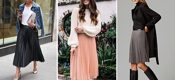 10 τρόποι να φορέσετε την πλισέ φούστα