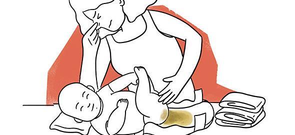 Πώς πρέπει να είναι οι κενώσεις του μωρού σας απ' την πρώτη μέρα της ζωής του