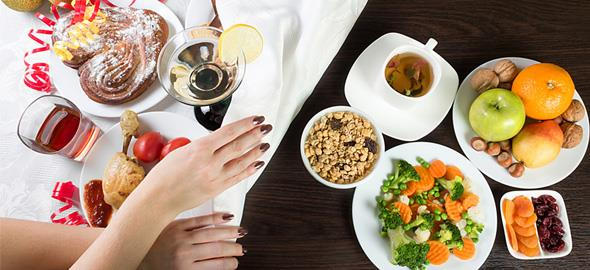Διατροφή πριν τις γιορτές: Τι να φάτε πριν τη χριστουγεννιάτικη κραιπάλη