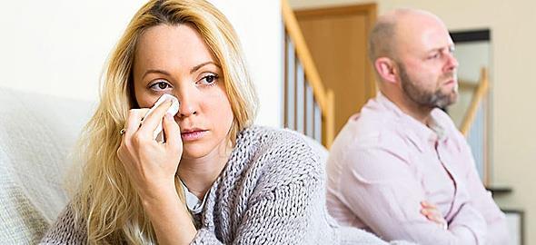 Με τον άντρα μου δεν τα πάμε καθόλου καλά εδώ και έναν χρόνο αλλά κάνω υπομονή για το παιδί μου. Πώς να το διαχειριστώ;