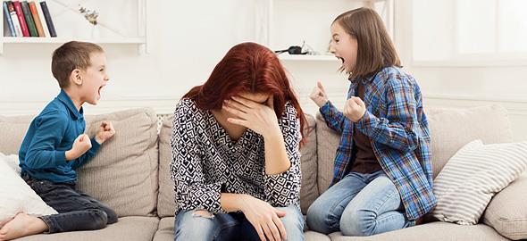 Τι δεν πρέπει να κάνετε όταν τα παιδιά τσακώνονται μεταξύ τους