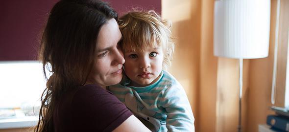 «Ξέχασα πώς να είμαι ευτυχισμένη μαμά»