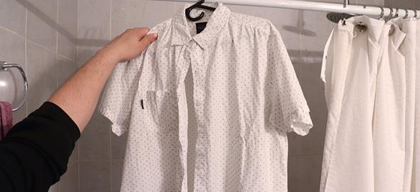 Πώς να μην τσαλακώνονται τα ρούχα