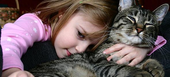 Είναι επικίνδυνο για τα παιδιά μου να έχουμε σαν κατοικίδιο ένα εμβολιασμένο γατάκι;