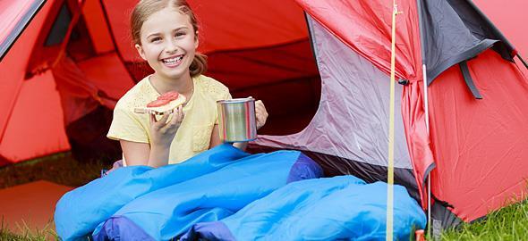 Γιατί τα παιδιά που κάνουν κάμπινγκ είναι πιο υγιή και ευτυχισμένα