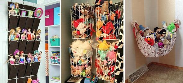 7 φανταστικές ιδέες για να αποθηκεύσετε τα παιχνίδια των παιδιών