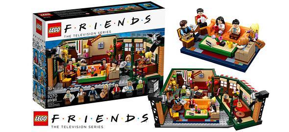 Τα αγαπημένα μας «Φιλαράκια» γίνονται…LEGO σ' ένα μοναδικό σετ