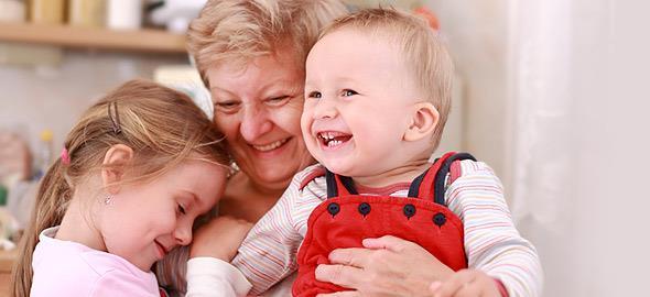 Όταν η μαμά μου έγινε γιαγιά των παιδιών μου…