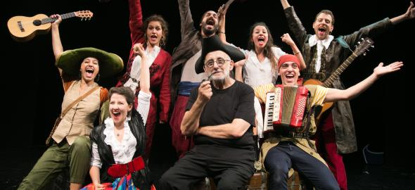 Κερδίστε προσκλήσεις για την παράσταση «Ως την άκρη του κόσμου» στις 19/1 στο Θέατρο Τζένη Καρέζη