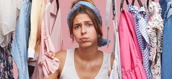 «Δεν ξέρω τι να φορέσω!»: 7 τρόποι να βγείτε απ' το αδιέξοδο με στιλ