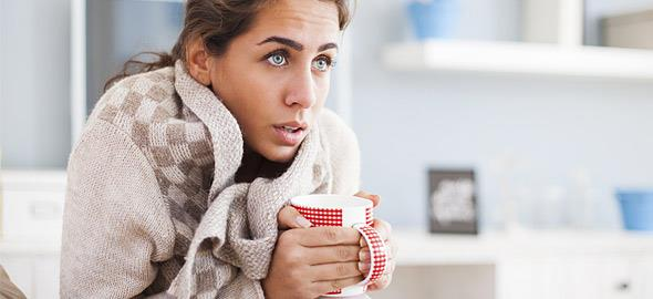 5 λόγοι υγείας που αισθάνεστε συνεχώς ότι κρυώνετε