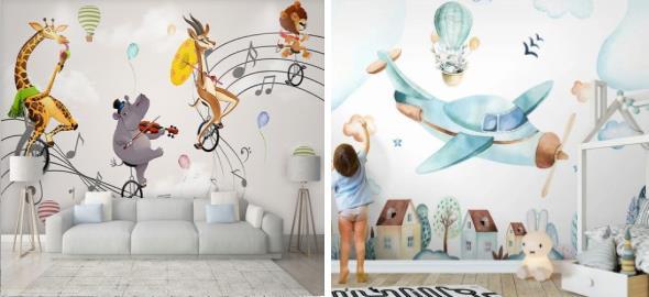 Wall art: Η νέα συναρπαστική μόδα στην παιδική διακόσμηση