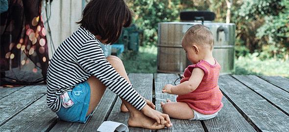 Γιατί χαίρομαι που οι κόρες μου έχουν μεγάλη διαφορά ηλικίας