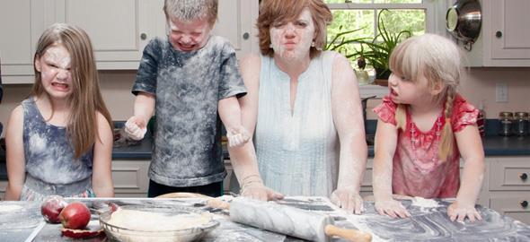 «Ποιος είπε πως το καθημερινό μαγείρεμα για τις μαμάδες είναι μία εύκολη υπόθεση;»