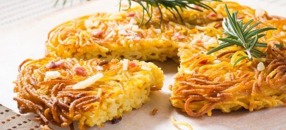 Αυθεντική ιταλική μακαρονόπιτα με μπέικον
