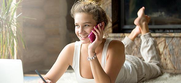 «Τηλεφωνώ στη μαμά μου κάθε μέρα γιατί μου αρέσει να μιλάω μαζί της»