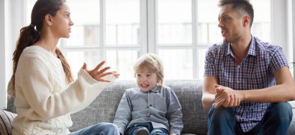 5 απλοί κανόνες για να μην τσακώνεστε για την ανατροφή του παιδιού
