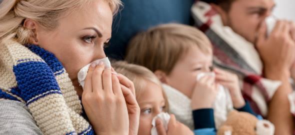 Στη μαμά που έχει όλη την οικογένεια άρρωστη και αρρώστησε κι αυτή: «Κουράγιο!»