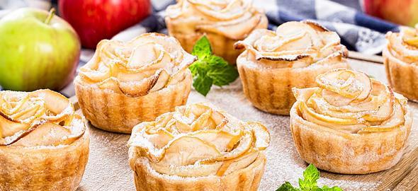 Τα καλύτερα μηλοπιτάκια με κάστανο!
