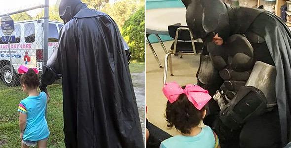 O Batman σώζει 3χρονο κοριτσάκι που δέχεται bullying απ' τους συμμαθητές της